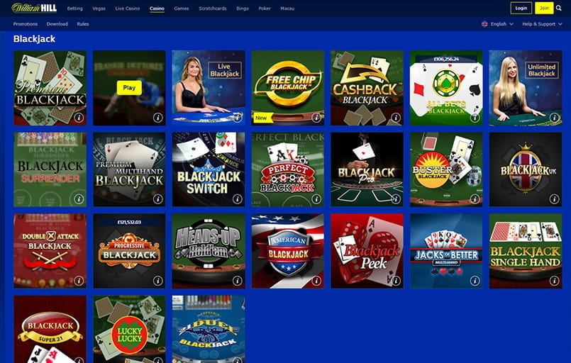 online william hill casino find casino games