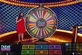 The Dream Catcher game at William Hill live casino.