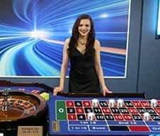 A William Hill casino live dealer.
