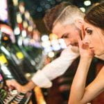 A stock image of people gambling at a casino