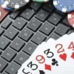 A stock image representing online gambling