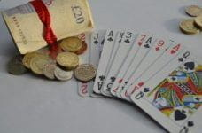 A stock image depicting UK gambling