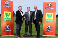 Norwich City FC sign a sponsorship deal with LeoVegas casino