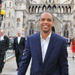 Phil Ivey arriving at Court
