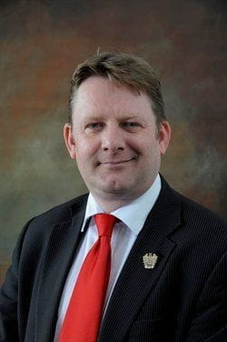 Councillor Simon Blackburn - Leader of Blackpool Council