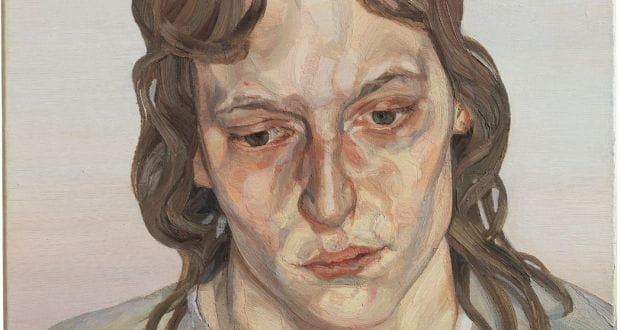 Head of a Girl, by Lucian Freud (1975