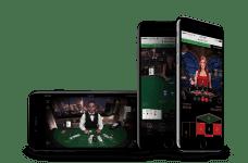 Mobile Standard Blackjack from NetEnt