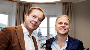 Jens von Bahr and Fredrik Österberg, co-founders of Evolution Gaming