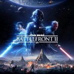 Poster for the Star Wars Battlefront II game.