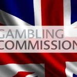 The Gambling Commission logo.