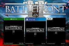 Star Wars Battlefront II box art by Electronic Arts