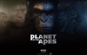 NetEnt's Planet of the Apes logo