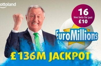 A promotional image for Lottoland EuroMillions bets