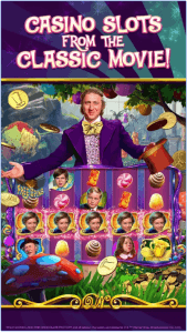 A Willy Wonka slot game by Zynga, one of the biggest providers of free-play slots in the UK.