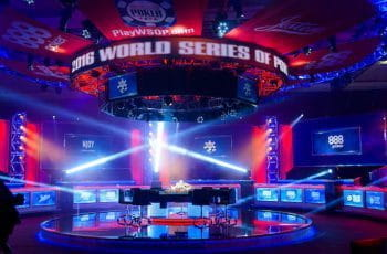 The main event table at the WSOP 2017