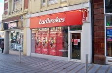A Ladbrokes high-street betting shop.