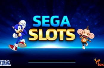 A promotion image for SEGA Slots