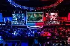 A League of Legends eSports match