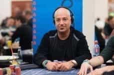 Micah Raskin during a tournament