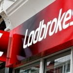 A Ladbrokes store front.