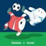 The Casumo and Kambi logos