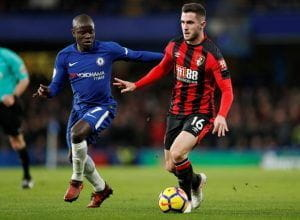 Lewis Cook in action for Bournemouth