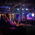 An esports gamer at the helm