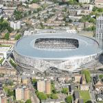Tottenham Hotspur's new stadium.