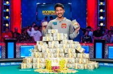 John Cynn has won the World Series of Poker Main Event