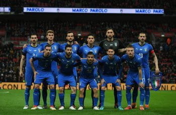 The Italian national football team.