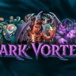 The promotional image from Yggdrasil's new slot game, Dark Vortex