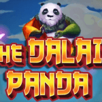 A promotional image for the iSoftBet slot game Dalai Panda.