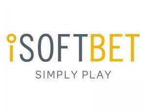The iSoftBet logo.