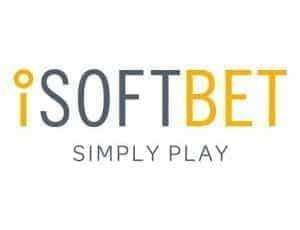 The iSoftBet logo.