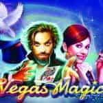 Promotional image for Pragmatic Play's new slot game Vegas Magic