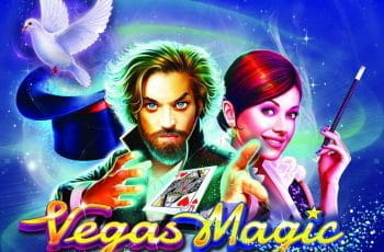 Promotional image for Pragmatic Play's new slot game Vegas Magic