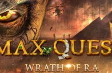 A promotional image for the new BetSoft game, Max Quest: Wrath of Ra