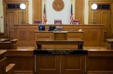 An image of a United States courtroom.