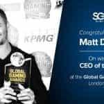 An image of former SG Digital CEO, Matt Davey.