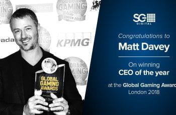 An image of former SG Digital CEO, Matt Davey.