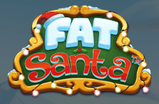 The Fat Santa game logo.