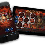 Spin Dizzy slot game from realistic Games on mobile.