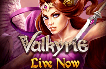 A promotional image for the ELK Studios slot game Valkyrie.