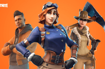 Characters from the popular game Fortnite.