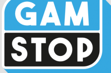 The GamStop logo.