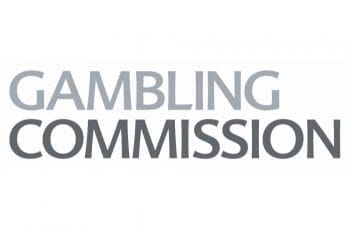 The logo of the UK Gambling Commission.