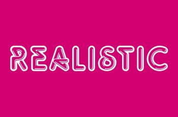 The Realistic Games logo.
