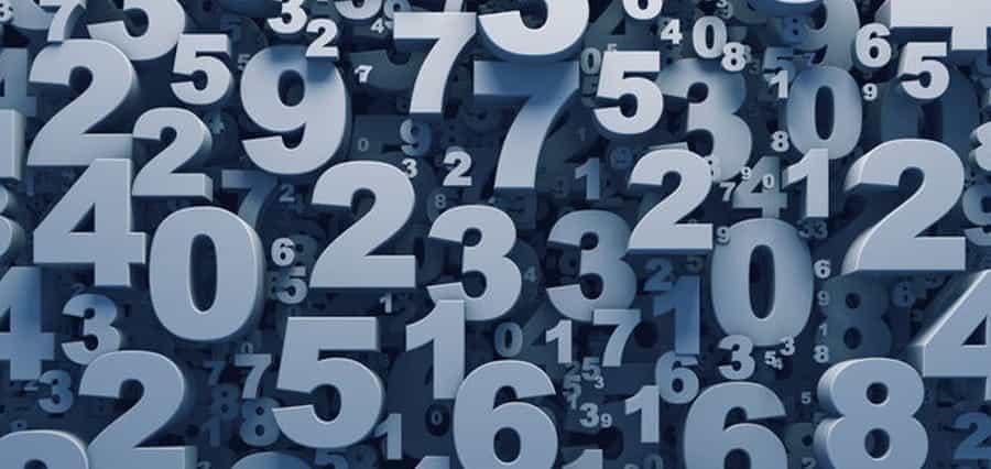 Random numbers.