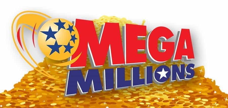 The Mega Millions lottery logo.