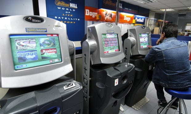 Several FOBTs in a store.